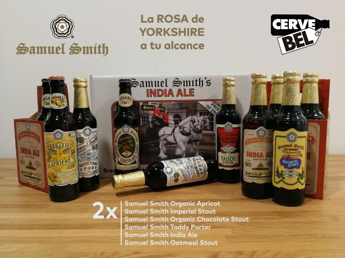 Samuel Smith pack de cervebel