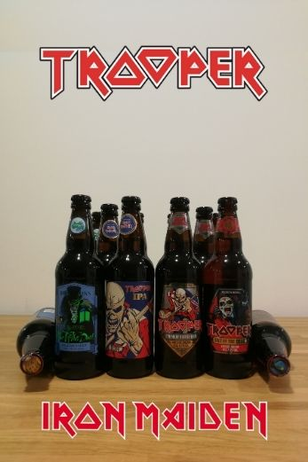 Pack cervezas Trooper Total