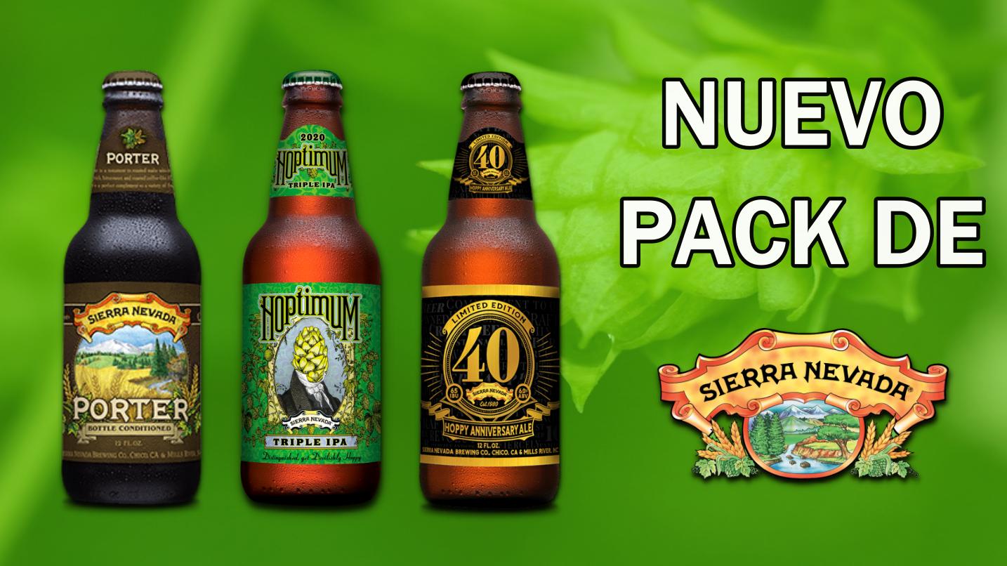 Sierra Nevada Pack Hoptimum Banner uai