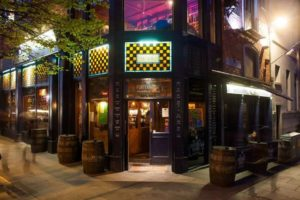 Rock and Beer y Porterhouse. Temple Bar.