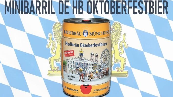 Imagen Destacada Minikeg HB Oktoberfestbier uai